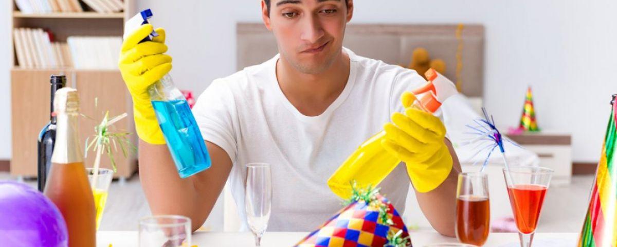 Výdaj čistiacich prostriedkov